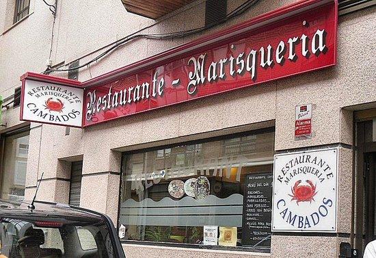 Restaurante Cambados: Shopfront