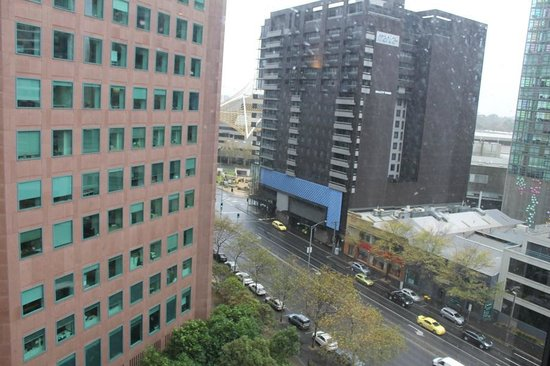 Travelodge Hotel Melbourne Southbank: view