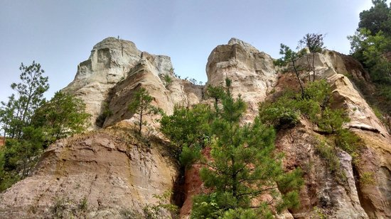 Providence Canyon State Outdoor Recreation Area: Canyon