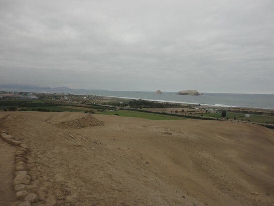 Pachacamac: paisagem do sítio arqueológico