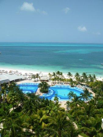Hotel Riu Caribe: Vista do apartamento