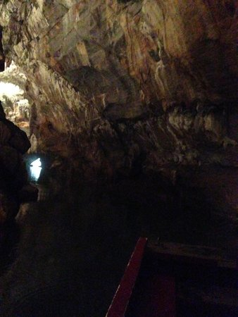 Penn's Cave: inside cave