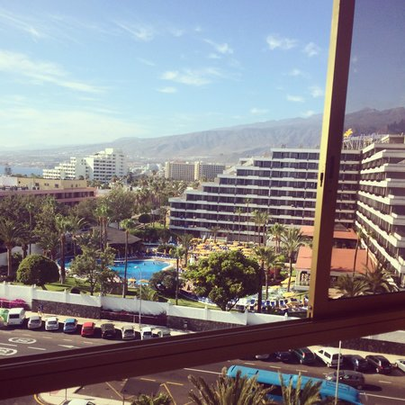 Hotel Best Tenerife: View from the top floor