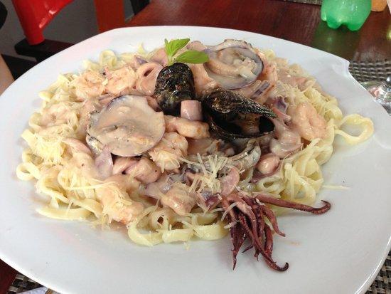 Pescaderia Barbarita: Prato do dia saiu a 11,50 reais! Muito saboroso e bem suficiente para uma pessoa q come bem.