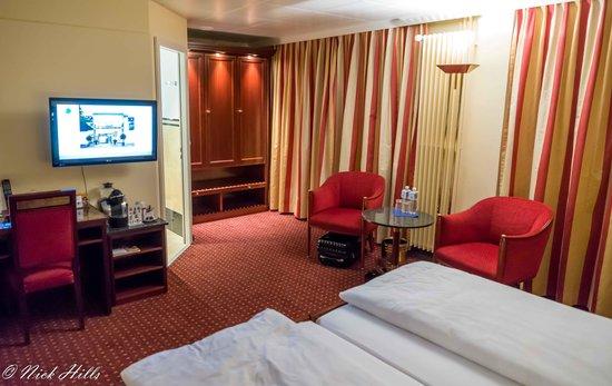 Engimatt City-Gardenhotel: Bedroom