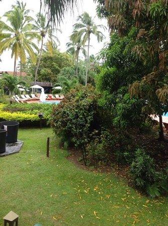 Sandals Halcyon Beach Resort: view from honeymoon hideaway room