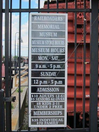 Altoona Railroaders Memorial Museum : info.
