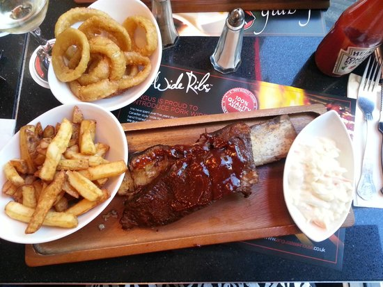 Angus Steakhouse: Jacobs Ladder WOW