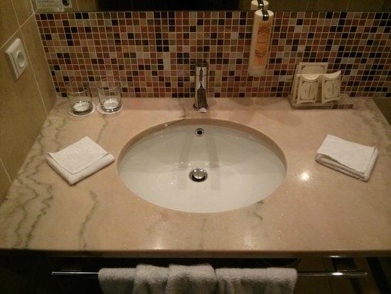 Hotel Clement Prague: shower
