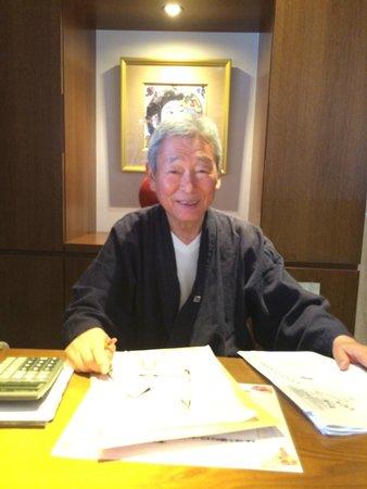 Ryokan Sawanoya : Mr. Sawa