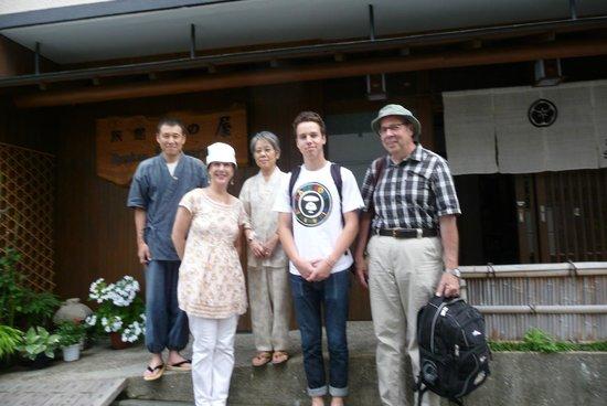 Ryokan Sawanoya : The Sawa's and our Family