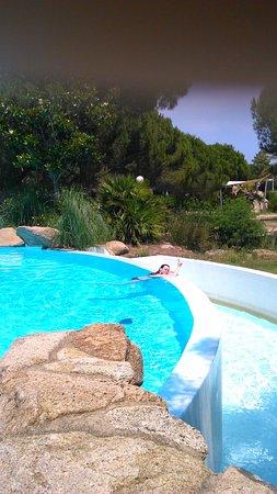 Paese Serenu : la piscine