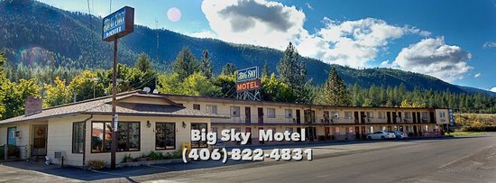 Big Sky Motel : Our Pride in Montana