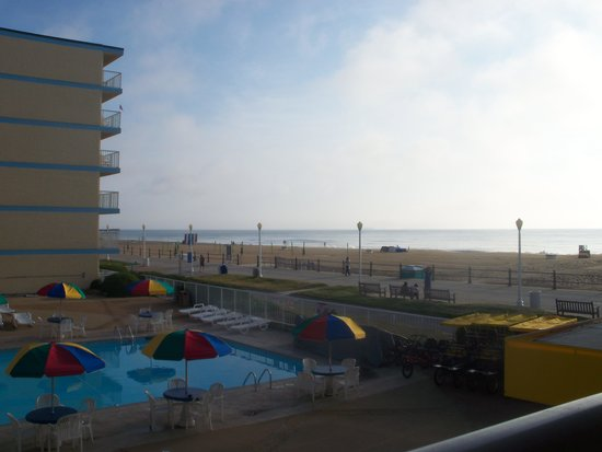 Quality Inn & Suites Oceanfront: view from room
