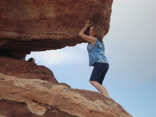 Garden of the Gods : Whew, got it up there