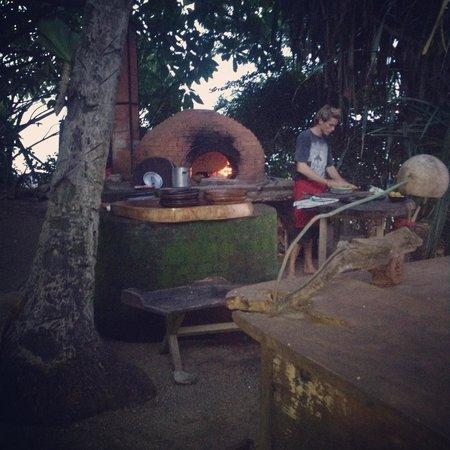 Playa de los Artistas: The outdoor chef
