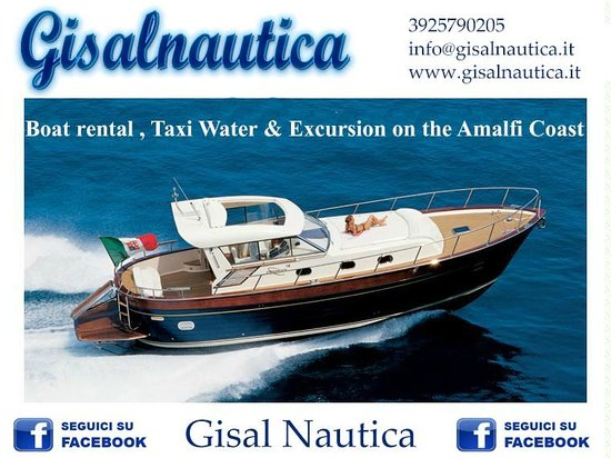 ‪Gisal Nautica - Boat rental , Taxi Water & Excursion on the Amalfi Coast‬