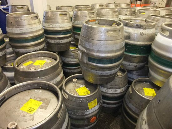 Hawkshead Brewery: roll out the barrel !!!!