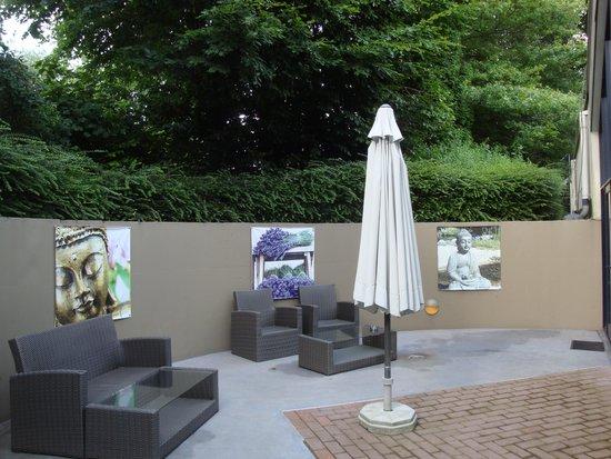 Sandton Hotel De Roskam: Pauze in de tuin