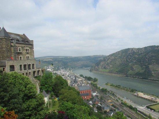 Burghotel Auf Schönburg: View from Castle