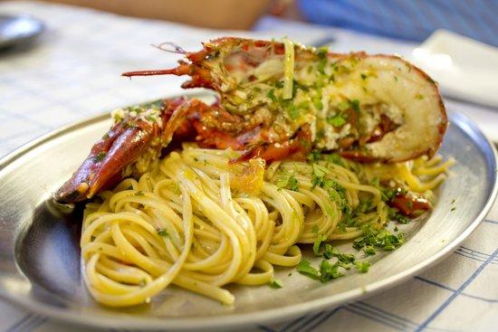 Trattoria Da Papa': Lobster Pasta