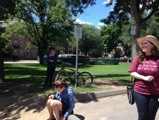 The Hahvahd Tour: Harvard Tour with guide