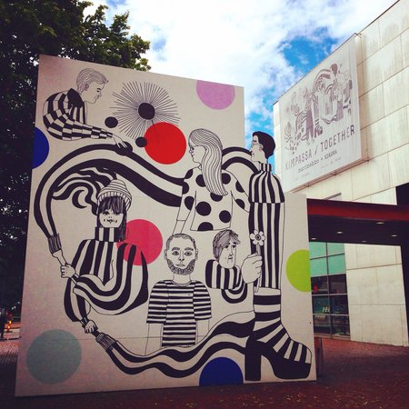 Musée Kiasma d'art contemporain (Nykytaiteen Museo) : ヘルシンキ版MOMA‼︎