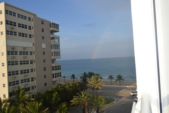 The Westin Beach Resort, Fort Lauderdale: rainbow from my room