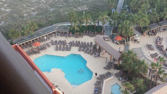 Embassy Suites by Hilton Myrtle Beach-Oceanfront Resort: On of the pool areas