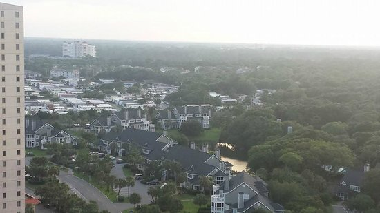 Embassy Suites by Hilton Myrtle Beach-Oceanfront Resort : View from room
