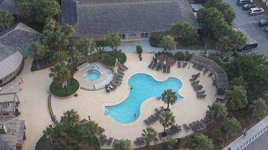 Embassy Suites by Hilton Myrtle Beach-Oceanfront Resort: Another Pool area with Jacuzzi