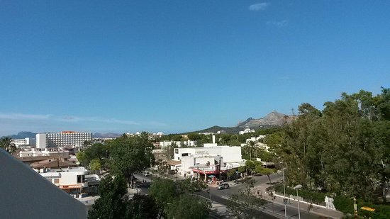 Hotel Astoria Playa Only Adults: Blick vom Balkon Richtung Meer