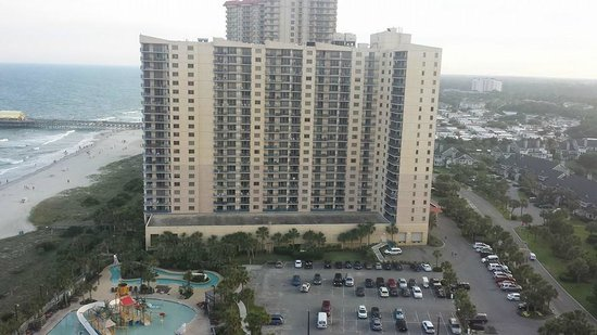 Embassy Suites by Hilton Myrtle Beach-Oceanfront Resort: View from the balcony 20th floor!