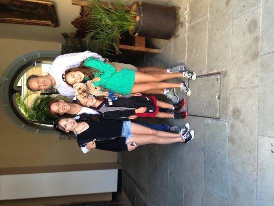 Hotel Boutique De La Parra: The Derzavich Fam with Archie the dog from Miami fl