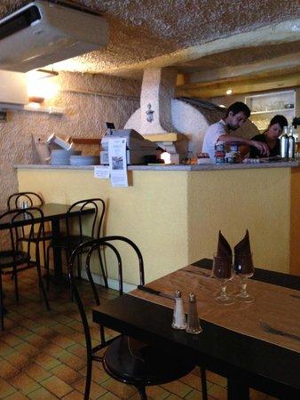 La Toscane : the restaurant