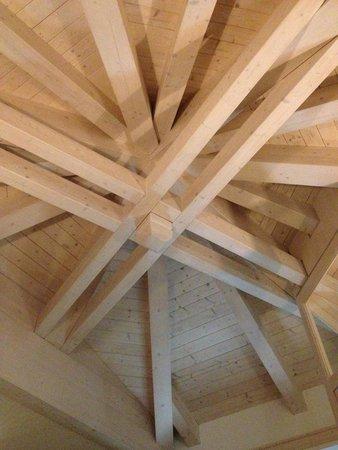 Hotel San Giacomo Gourmet & Spa: soffitto camera di lettura