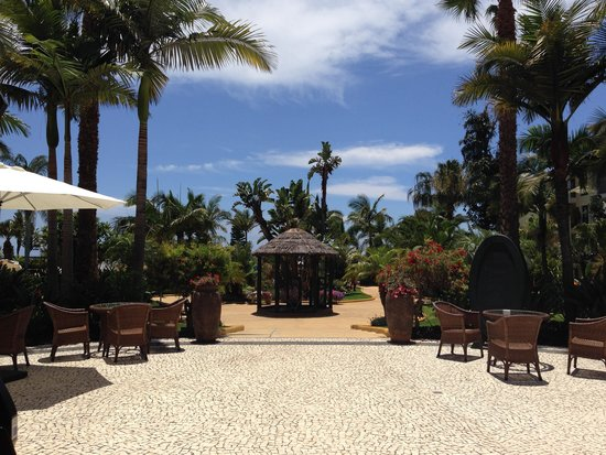 Porto Mare Hotel : The beautiful gardens