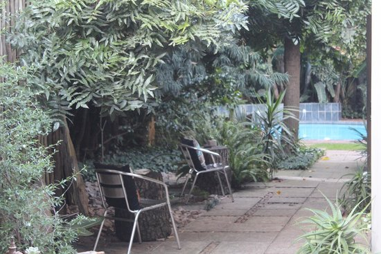 African Rock Hotel: Jardins