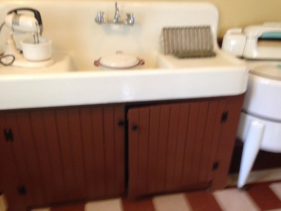 A Christmas Story House: kitchen sink