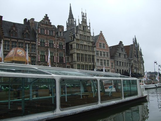 Best Western Hotel Chamade: Ghent buildings