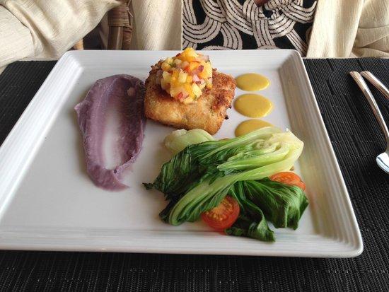 Makana Terrace: Dinner entree - Opah