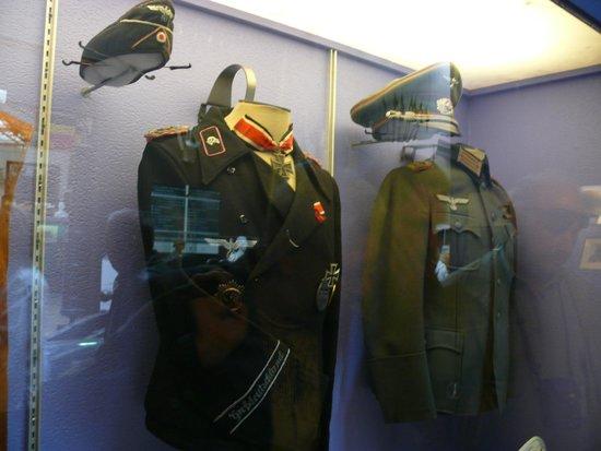 Musée royal de l'armée et de l'histoire militaire : Форма вермахта Германии