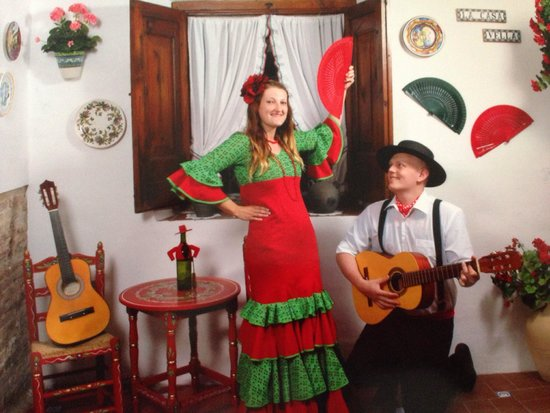 La Casa Vella - Flamenco en Barcelona: Photo taken with Iphone from original not best quality