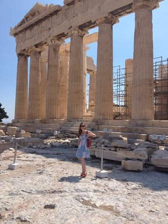 Acropolis: Greek mithology, the best touch of past in present!