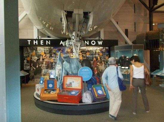 National Air and Space Museum: I used to work in the airline industry, I loved this exibit