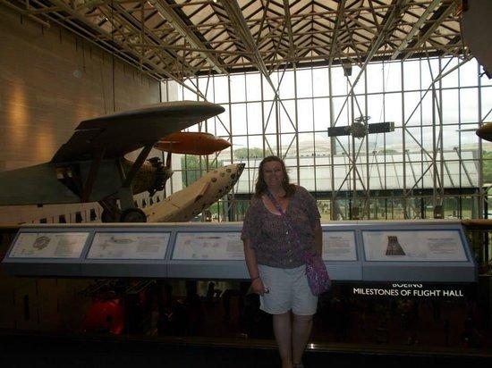 Museo Nacional del Aire y el Espacio: Me and the Spirit of St. Louis