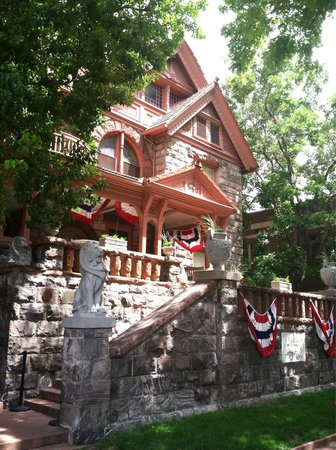 Molly Brown House Museum: Molly Brown House on 4th of July