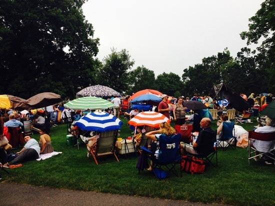 Tanglewood: who cares about rain at tangelwood?
