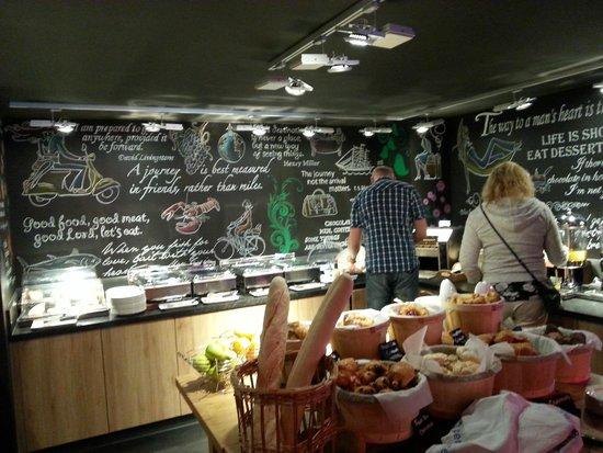pentahotel Inverness: La colazione