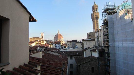 Hotel Degli Orafi : Udsigt fra tagterassen